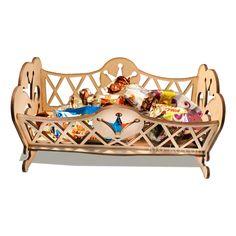 Купить деревянную кроватку принцессы в интернет-магазине Kroko&woodi