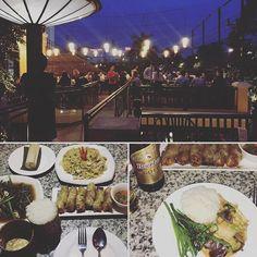 Cena laotiana su una terrazza romanticissima #nonsolocambogia #cambogiaviaggi #travelways #particonnoi #incontroautentico #sudestasiatico #vientiane http://ift.tt/2bamptd