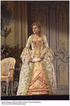 Renée Fleming in one of her most incredible roles - The Marschallin in Strauss' Der Rosenkavalier.