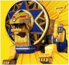 Power Rangers Central - Database - Power Rangers Ninja Storm - Ninja Zords