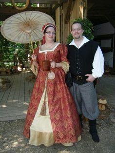 Scarborough fair renaissance festival  Tudor Costume  renaissance gown