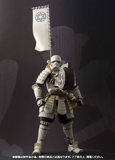 The Samurai Styled Taikoyaku Stormtrooper Action Figure Boosts Morale with His Drum