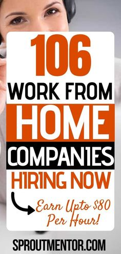 106 work from home companies you can find legitimate work from home jobs paying above $15 per hour. #workfromhome #workathome #workfromhomejobs #workathomjobs #legitimateworkfromhomejobs #parttimeworkfromhomejobs #workfromhomejobsonline #realworkfromhomejobs