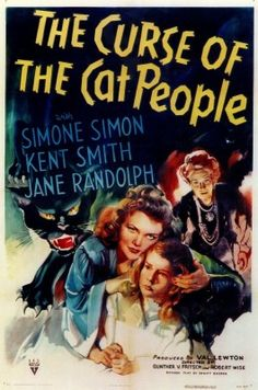 #vintage #halloween horror movie posters! The Curse Of The #Cat People