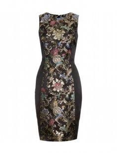 Jason Wu - PANELED JACQUARD DRESS - mytheresa.com GmbH Sukienki Sukienki koktajlowe floral