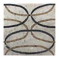 Carrolton Taupe/Black Mosaic