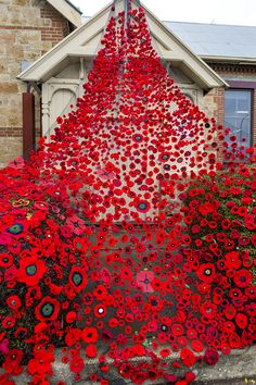 Traditional Kitchen with a Touch of Glamour - Bilimsi Knitted Poppies, Remembrance Day Art, Poppy Craft, Recycled Art Projects, School Murals, Poppy Pattern, Photo To Art, School Displays, Anzac Day
