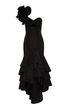 Iris Silk Faille Dress by JOHANNA ORTIZ for Preorder on Moda Operandi