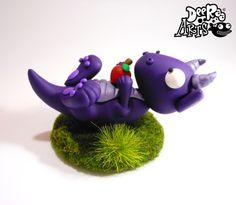 Dee Raa Arts polymer clay dragon cute kawaii sculpey fimo www.facebook.com/deeraaarts