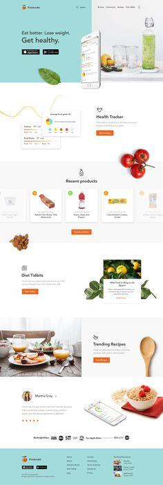 website Fooducate redesign