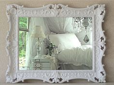 French Country Mirror, Baroque, Shabby Chic Mirror
