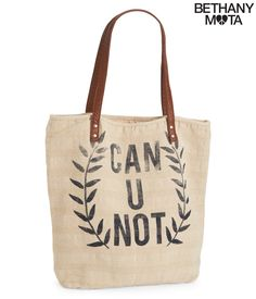 Can U Not Tote from Aeropostale