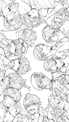 Twitter Anime Boy Sketch, Anime Drawings Sketches, Coloring Book Art, Colouring Pages, Anime Lineart, Anime Boy Zeichnung, Manga Poses, Drawings Of Friends, Anime Kunst