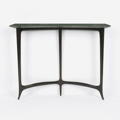 Guglielmo Ulrich, Marble-Topped Mahogany Console, c1942.
