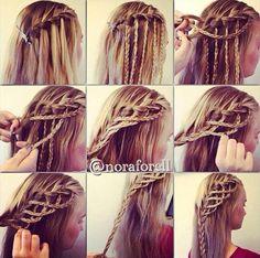 """Cool """"rope"""" braid"""