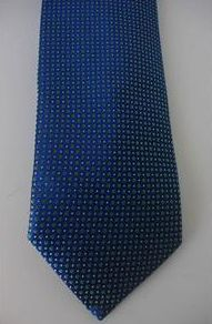 "This is a beautiful ETON silk neck tie, made in England.    It measures about 61"" in length and just over 3"" at its widest point.    The tie is new with tags."