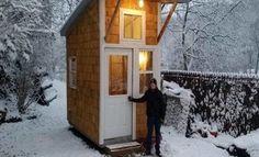 13χρονος έχτισε αυτό το μικροσκοπικό σπίτι, με μόλις 1.500€. Μόλις δείτε πως είναι από μέσα  #Viral