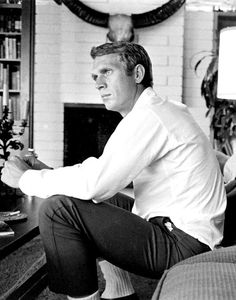 Steve McQueen photographed by John Dominis, 1963.  (1) Tumblr