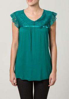 Anna Field T-shirt basic - Groen