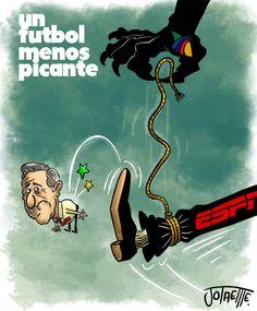 Y que corren a Carlos Albert de ESPN, ahora desde donde va a tirar piedras ?