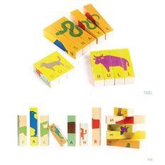 TOBE Spell blocks #wooden #toys
