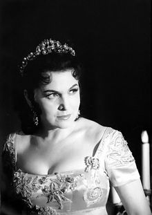 Galina Vishnevskaya. Britten wrote the soprano part of his War Requiem specifically for her.