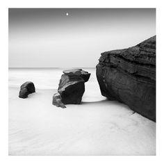 """""""Windansea Moon"""" by Marc Krutiak http://www.ugallery.com/marc-krutiak"""