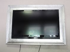 Silver Flat Screen Tv Frame For My Bedroom