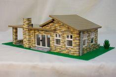 Lego modern house #lego