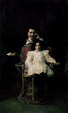 """The Royal Family at Buckingham Palace"" (1913) by Sir John Lavery (1856-1941)."