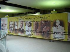 Alpha Phi Alpha Centennial exhibit banner