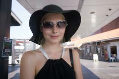 Verena in the Carissa Floppy Hat || Get the hat: http://www.nastygal.com/accessories/Carissa-Floppy-Hat