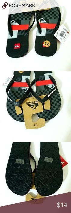 Quiksilver thong sandals/ flip flops Brand new Quicksilver Shoes Sandals & Flip-Flops