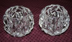 Tiffany & Co. Crystal Candle Holders by BeAnnsAttic on Etsy