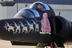 Know Your Northern California Spy Plane Nose Art: Beale AFB U2 ...