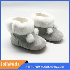 Soft Winter Warm Baby Boots Custom Baby Shoe