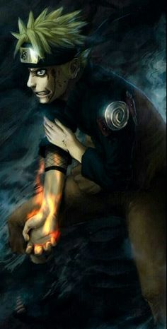 Naruto I will never give up, I will protect my friends and become Hokage