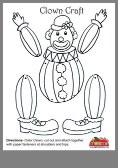See 7 Best Images of Printable Circus Crafts. Printable Preschool Circus Crafts Kids Craft Circus Clown Printable Kid Paper Crafts Templates Circus Clown Face Printable Circus Tent Craft for Preschoolers Circus Theme Crafts, Circus Theme Classroom, Circus Activities, Clown Crafts, Circus Art, Carnival Themes, Carnival Crafts Kids, Circus Clown, Daycare Crafts
