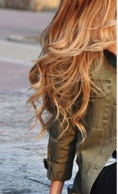 hair done strawberry blonde