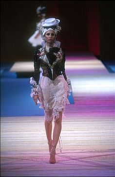 Christian Lacroix Haute Couture Spring-Summer 2002  by Christian_Lacroix  Worked on this one too :) Loved it.