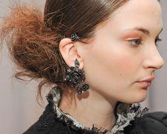 rose ear cuffs