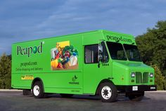 Peapod Truck | ... truck craft I decided to copy one of Peapod's new clean-fuel trucks
