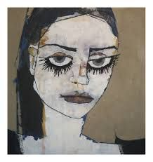 Margaretann Bennett (@magzbennett) | Twitter Abstract Portrait Painting, Portrait Art, Scary Art, Weird Art, Art Visage, Mini Canvas Art, Abstract Faces, Outsider Art, Psychedelic Art