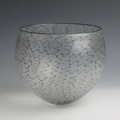 Tobias Mohl, Glass weaver bowl, 3000 british pounds