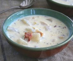 Fish Chowder.  Try with CLAMS, or CRAB, and a little OLD BAY.  Use RICED CAULIFLOWER, and cauliflower florets instead of radish.