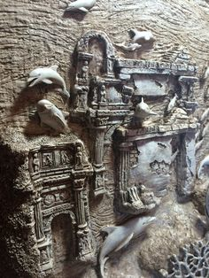 View the Gallery of Elite Artistry by Ellie here - Low / Bas Relief Sculptures to relieve stress & create beautiful art - Classes available in Portland, OR.