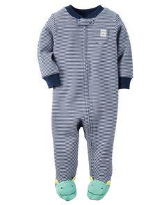 Baby Boy Cotton Zip-Up Sleep & Play | Carters.com