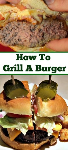 How To Grill A Burger Perfectly Every Time Using A Burger Press Helps To Ensure A Good Shape But Little Steps Will Help You To Make A Perfect Burger Via Guywhogrills Rib Recipes, Bean Recipes, Sausage Recipes, Grilling Recipes, Cooker Recipes, Chicken Recipes, Healthy Recipes, Ramen Recipes, Carrot Recipes