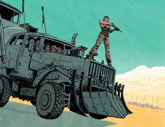 Mad Max: Fury Road by Cliff Chiang *