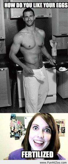 How do you like your eggs in the morning - Funny Picture